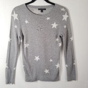Banana Republic Factory XS Star Print Sweater 0183